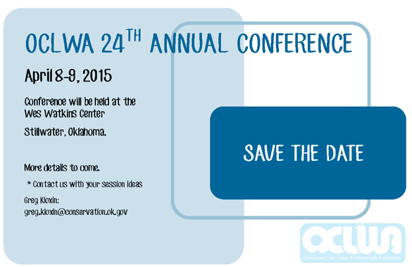 Save The Date! 2015 Conference!